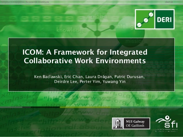ICOM: A Framework for Integrated Collaborative Work Environments