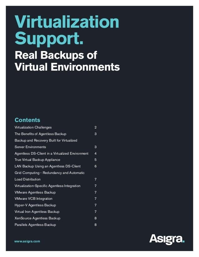 Icomm virtualisation-support-white-paper
