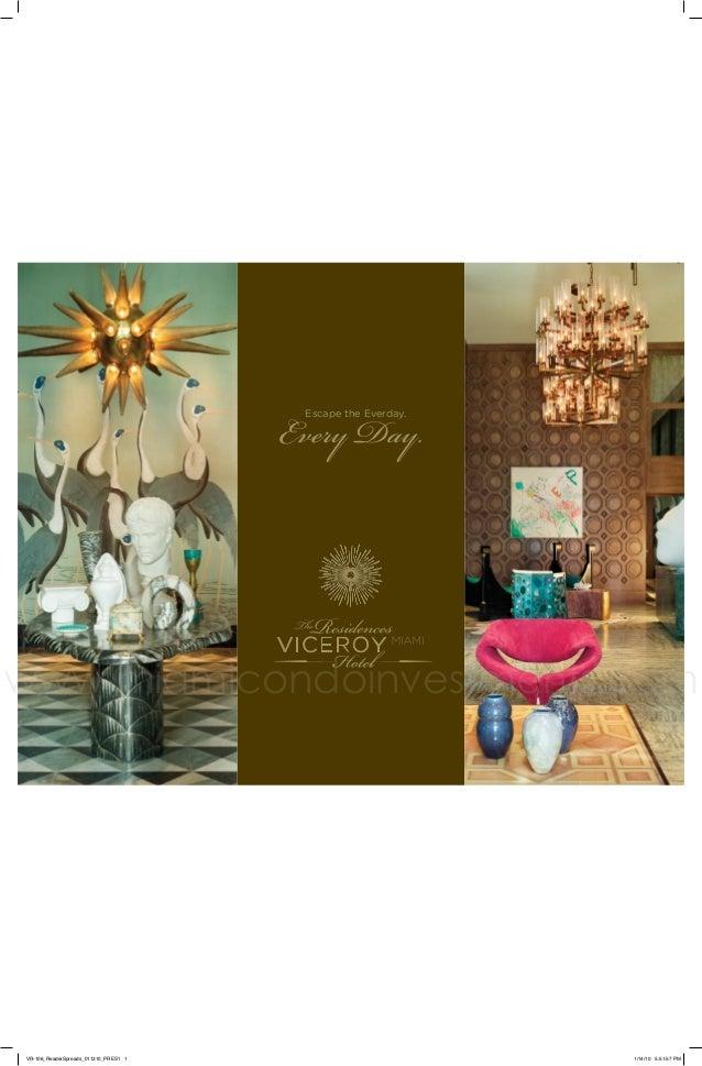 Icon Brickell Viceroy brochure
