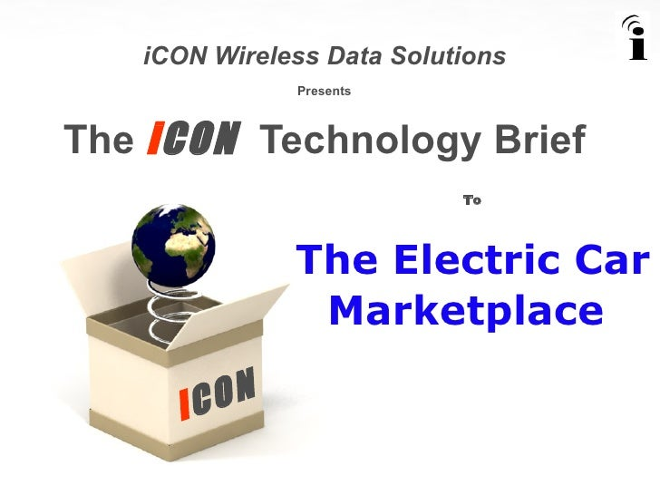 """iCON The """"Connected"""" Car"""
