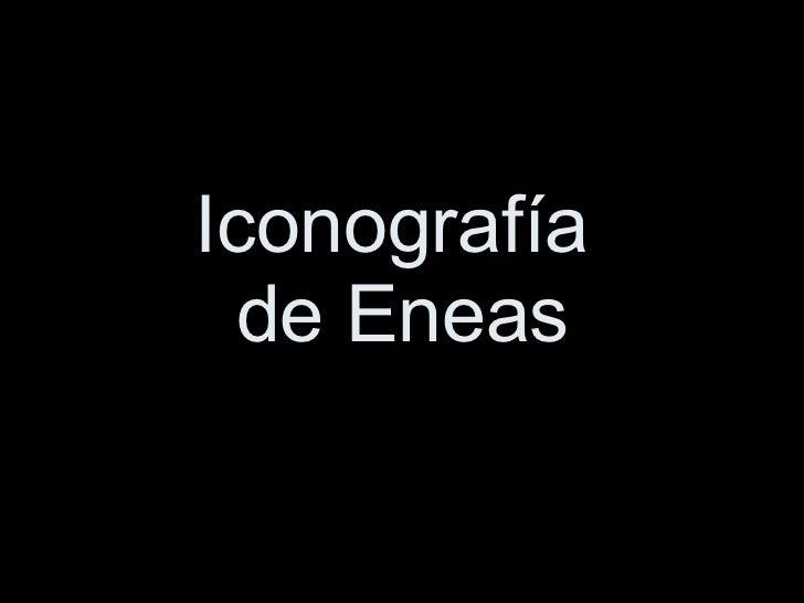 Iconografía  de Eneas