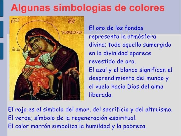Algunas simbologias de colores El rojo es el símbolo del amor, del sacrificio y del altruismo. El verde, símbolo de la reg...