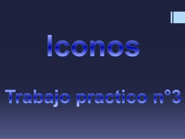 Un icono o ícono1 es, en informática, un pictograma que es utilizado para representar archivos, carpetas, programas, unida...