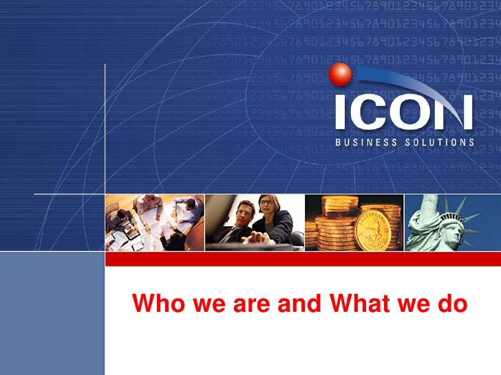 Overview of Icon Business Solutions