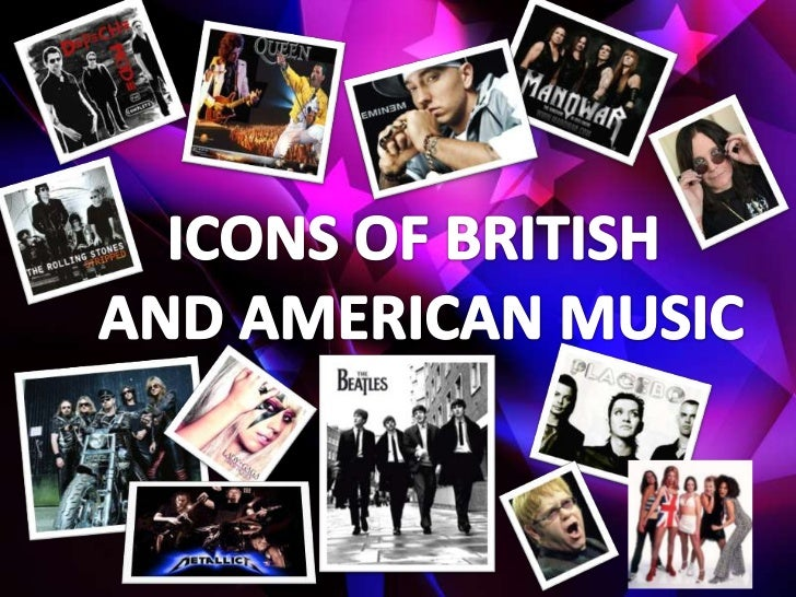Icons of british and american music