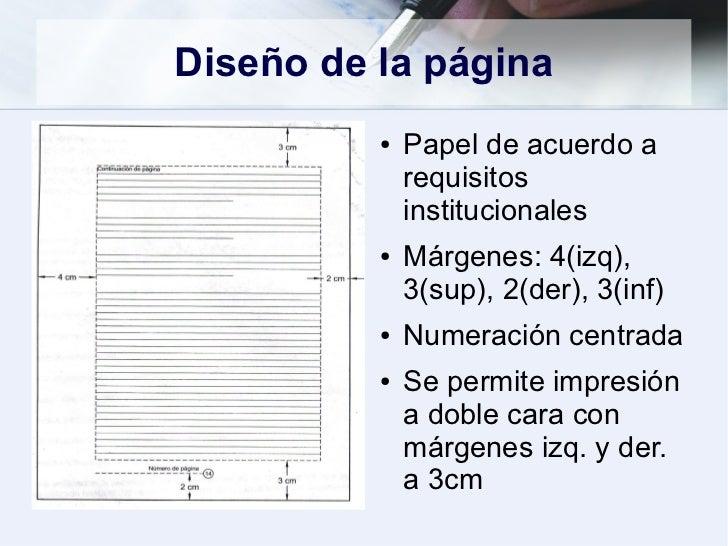 """cuaderno digital de diego andres: """"NORMAS PARA TRABAJOS ESCRITOS"""""""