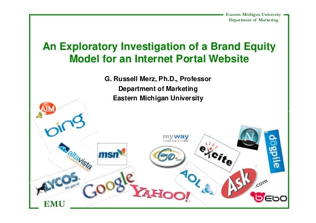 An Exploratory Investigation of a Brand Equity Model for an Internet Portal Website