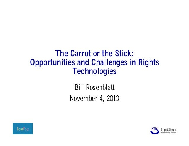 The Carrot or the Stick: Opportunities and Challenges in Rights Technologies