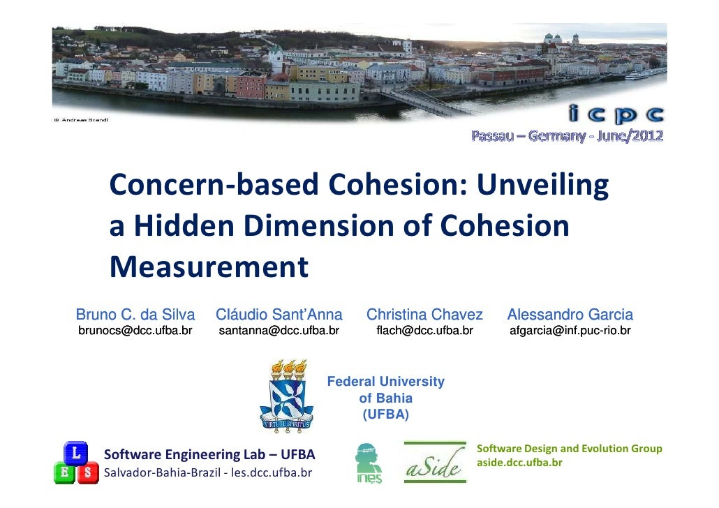 Concern-based Cohesion: Unveiling a Hidden Dimension of Cohesion Measurement
