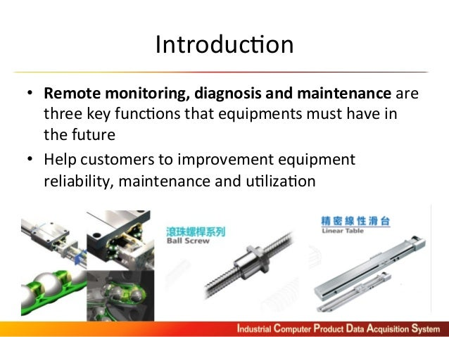 Current Monitoring System : Icpdas machine current monitoring and preventive maintenance