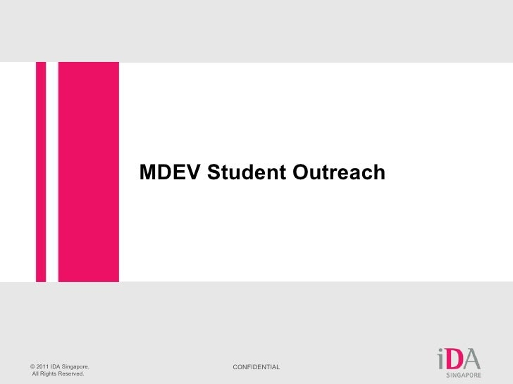 IDA Student Talent Attraction Initaitives