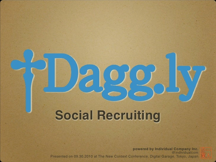 Social Recruiting                                               powered by Individual Company Inc.                        ...