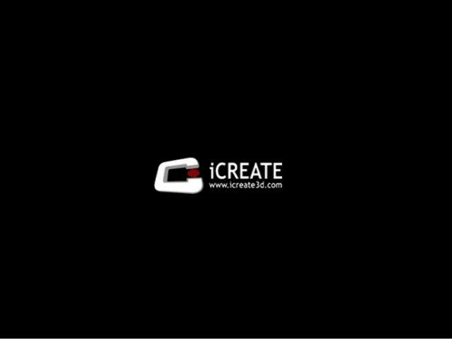 Icreate3D