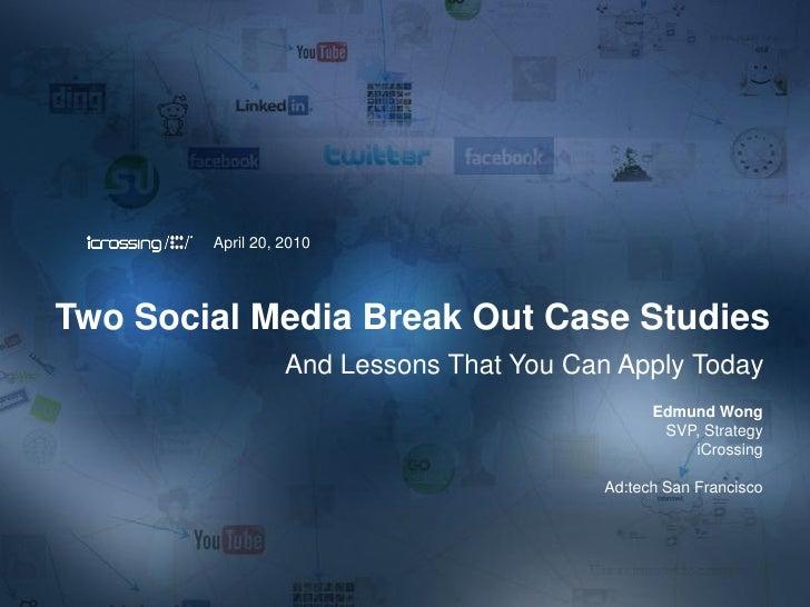 Social Media Break Out Case Studies: bebe and Billboard.com