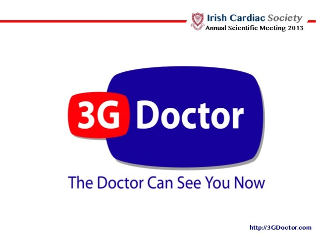 Irish Cardiac Society Annual Scientific Meeting 2013 An introduction to mHealth presentation by David Doherty