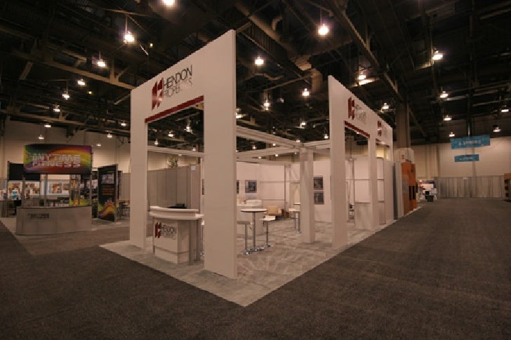 ICSC Exhibit Stands built by Exhibit Fair International