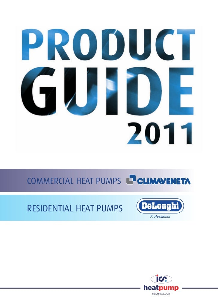 COMMERCIAL HEAT PUMPSRESIDENTIAL HEAT PUMPS