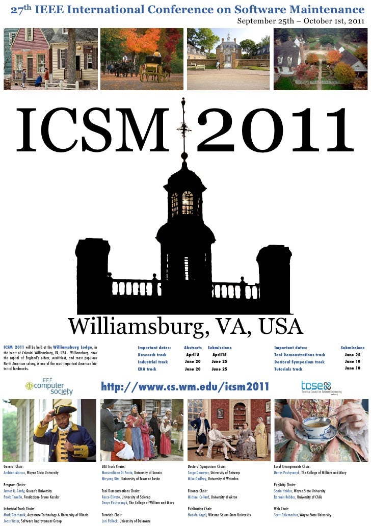 ICSM 2011 Poster