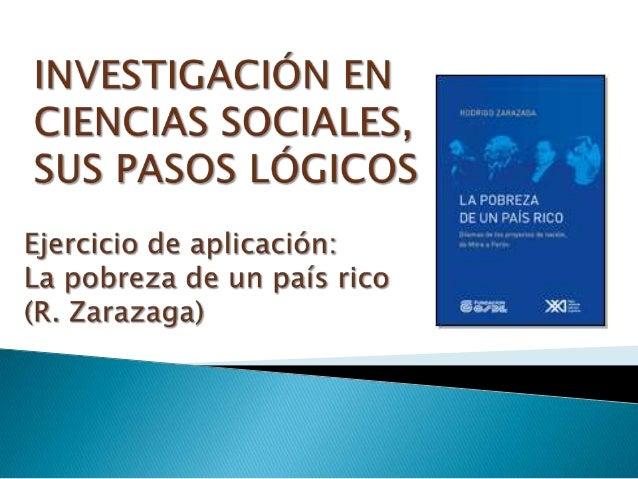 Icso5 - pasos lógicos de investigación - caso dilemas de proyectos de nación