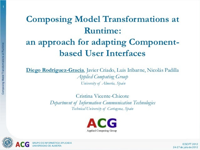 1                                              Composing Model Transformations at                                         ...