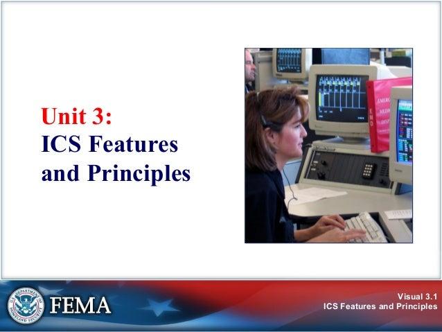 Visual 3.1ICS Features and PrinciplesUnit 3:ICS Featuresand Principles