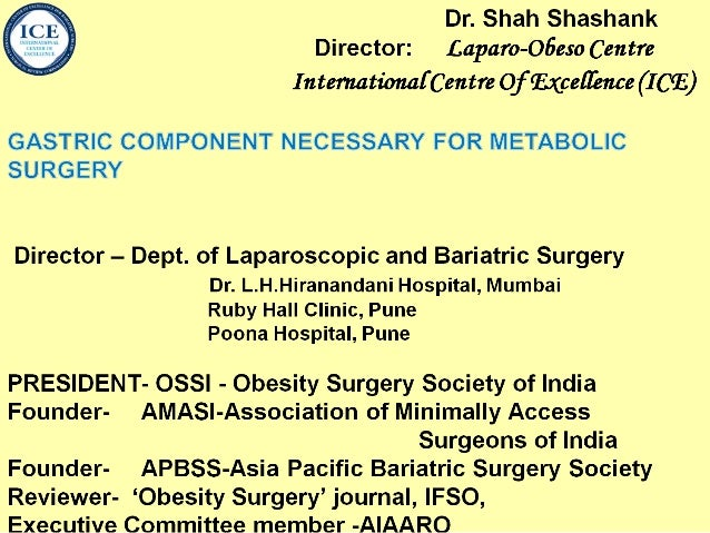 Icssg 2012 sleeve component needed after intestinal metabolic surgery
