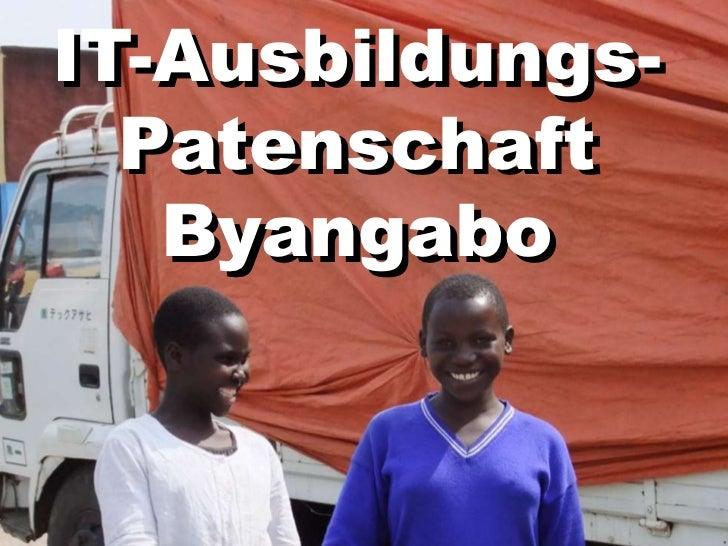 IT-Ausbildungs-  Patenschaft   Byangabo