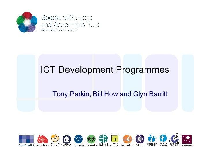 ICT Development, SSAT