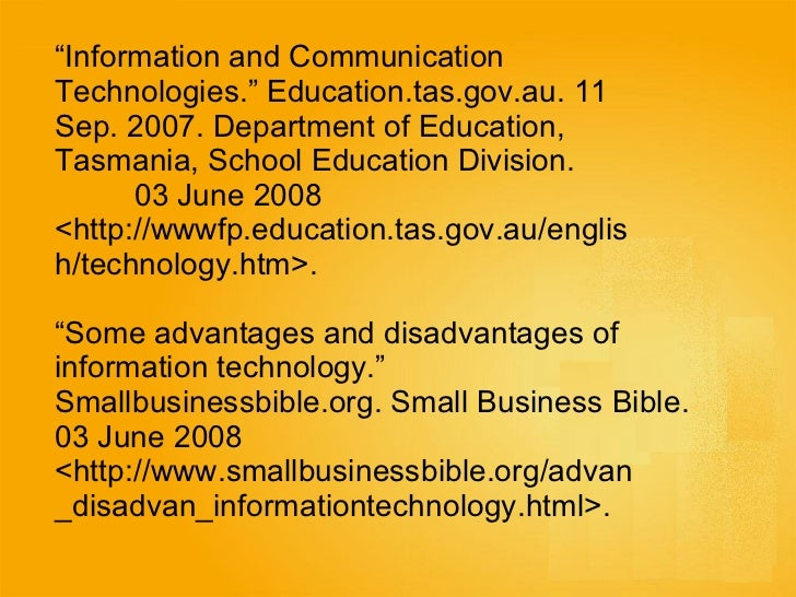 advantages and disadvantages of ict Understand the main advantages and disadvantages of mobile technology in  your business.