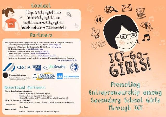 ICT-Go-Girls! project brochure