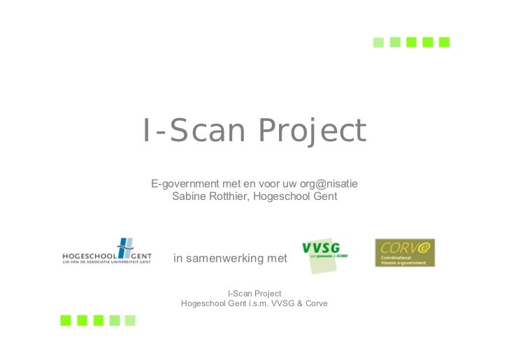Ict Sd05 I Scan Project   Sabine Rotthier
