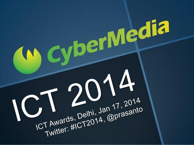 CyberMedia ICT Awards 2014