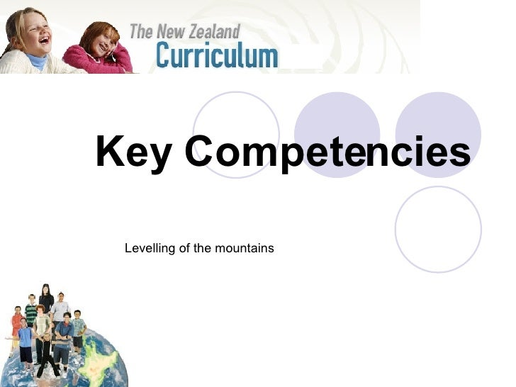 Key Competencies Levelling of the mountains
