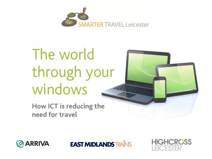 ICT and travel avoidance