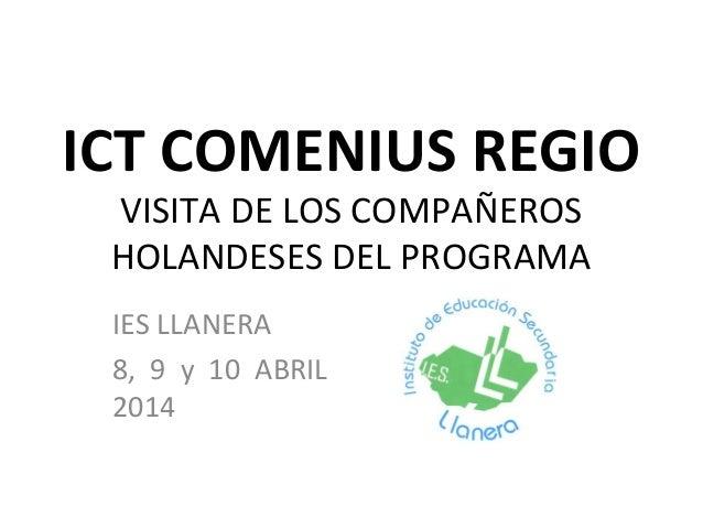Ict comenius regio
