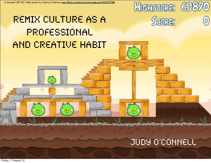 Remix Culture as a Professional and Creative Habit