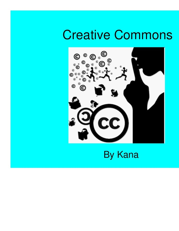 Creative Commons about the licences