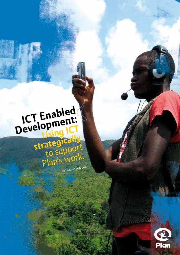 ICT Enabled Development Plan 2010