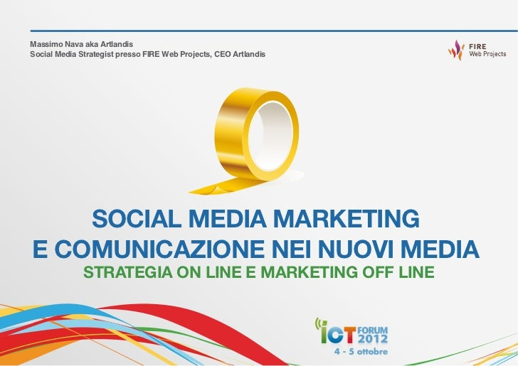 SOCIAL MEDIA MARKETING E COMUNICAZIONE NEI NUOVI MEDIA