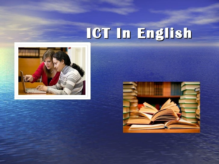 Ict in english
