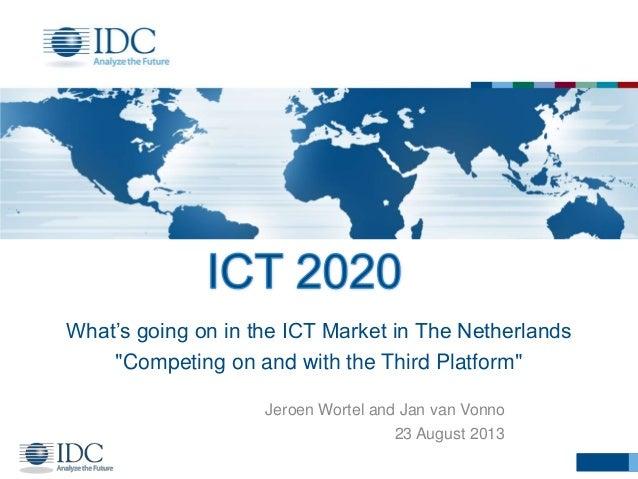 ICT Innovatie sessie Q4 2013