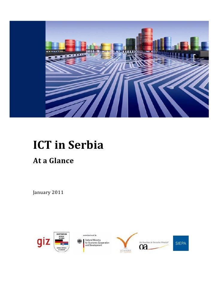 ICT in SerbiaAt a GlanceJanuary 2011