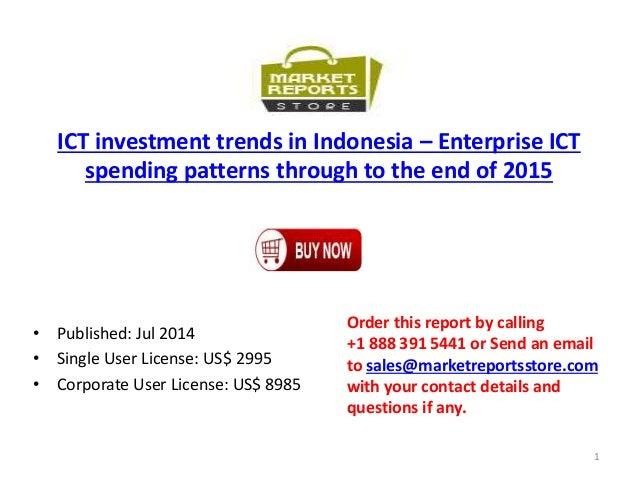 Enterprise ICT Investment Market Trends in Indonesia 2015