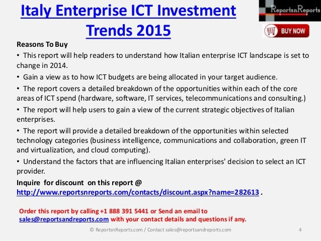 4 ict trends Ict investment trends in education presents the findings from a survey of 124 educational institutions regarding their 214 cloud computing 3 ict procurement.