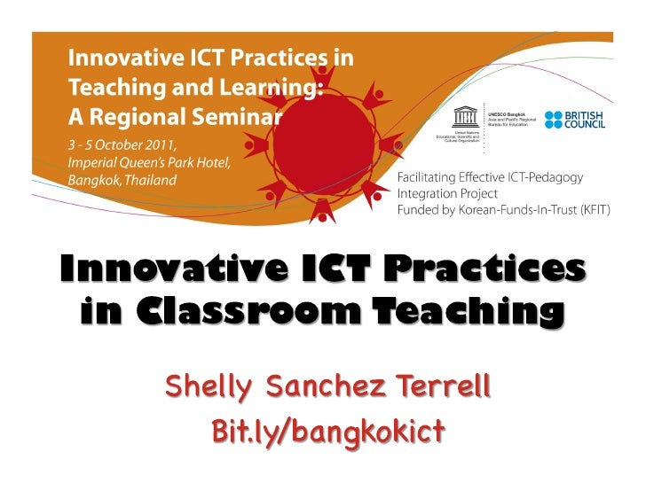 Innovative ICT Practices in Classroom Teaching