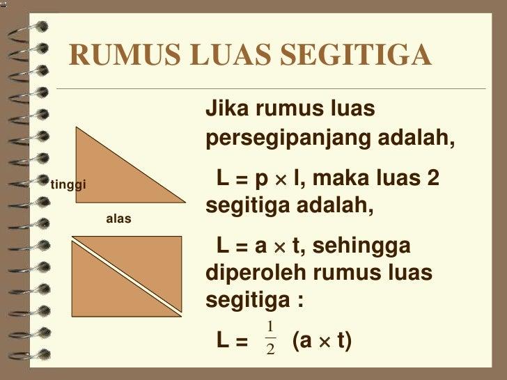 Rumus Segitiga , segitiga