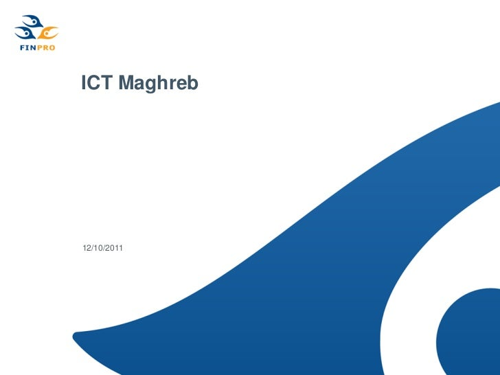 ICT Maghreb. Finpro project final report
