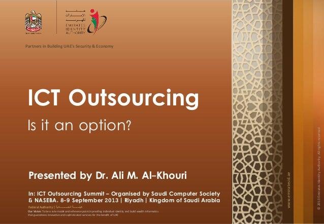 www.emiratesid.ae ©2013EmiratesIdentityAuthority.Allrightsreserved Partners in Building UAE's Security & Economy Our Visio...