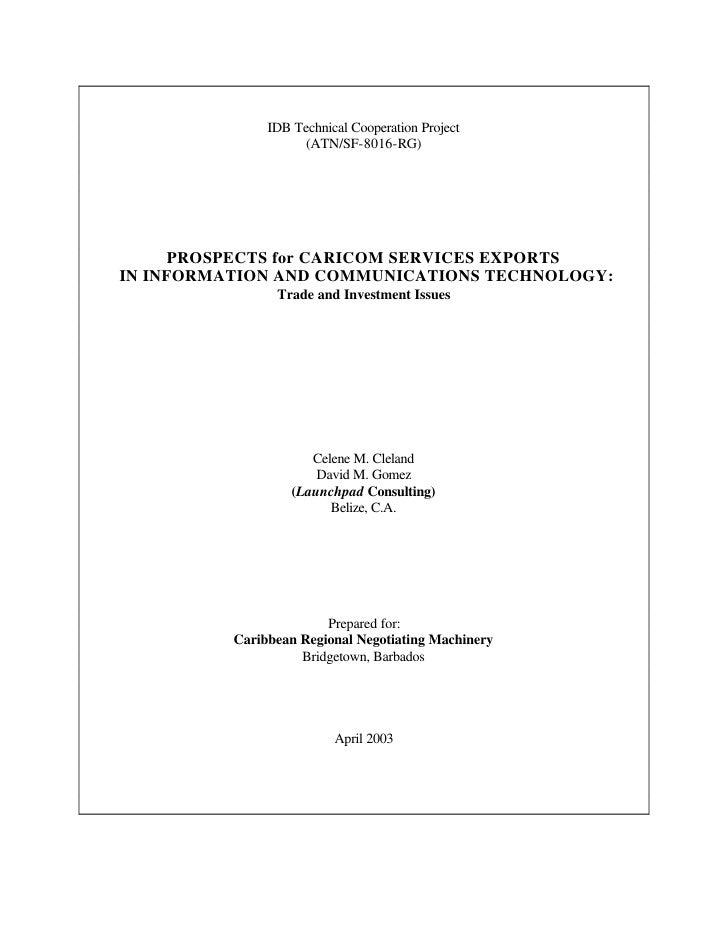 CRNM - ICT Paper