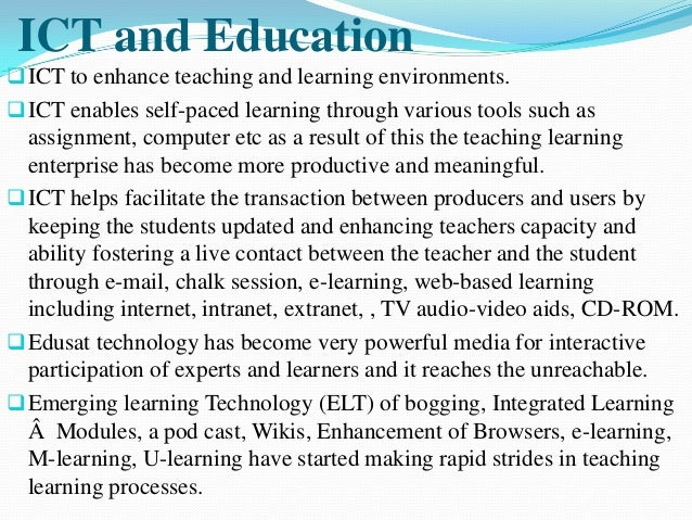 internet impact on education essay Essay on online vs traditional education - with a free essay review - free essay reviews.